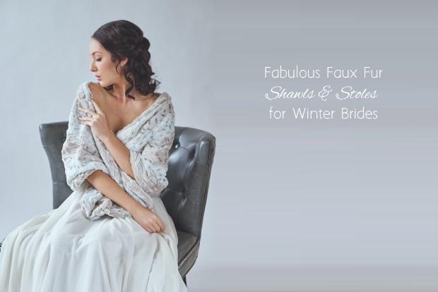 Fabulous faux fur bridal cover ups for winter weddings fabulous faux fur bridal cover ups for winter weddings junglespirit Gallery