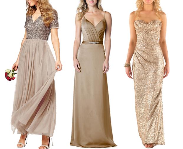 gold-sequin-bridesmaid-dress