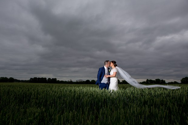 hamlet-court-hotel-real-wedding-bride-and-groom-in-field