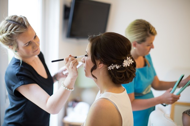 hamlet-court-hotel-real-wedding-bride-getting-makeup-done