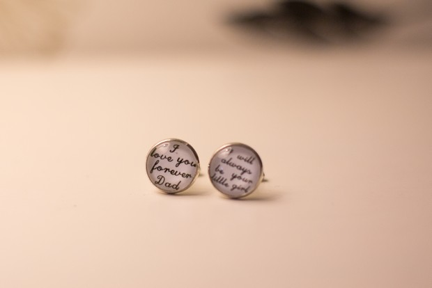 hamlet-court-hotel-real-wedding-father-of-the-bride-gift-personalised-cuff-links-i-will-always-be-your-little-girl