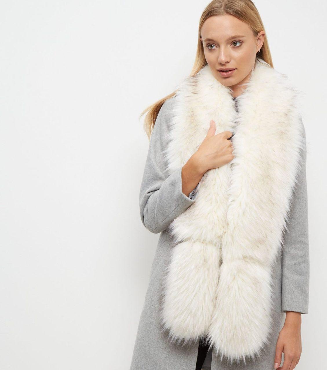 White Fur Stole >> Fabulous Faux Fur Bridal Cover Ups For Winter Weddings Weddingsonline