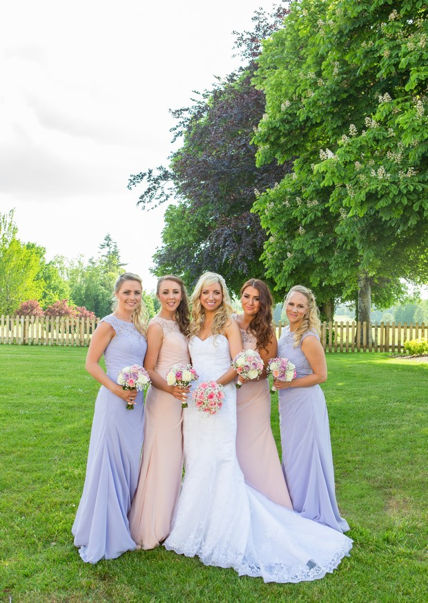 pastel-bridesmaids-dresses-mix-match-spring