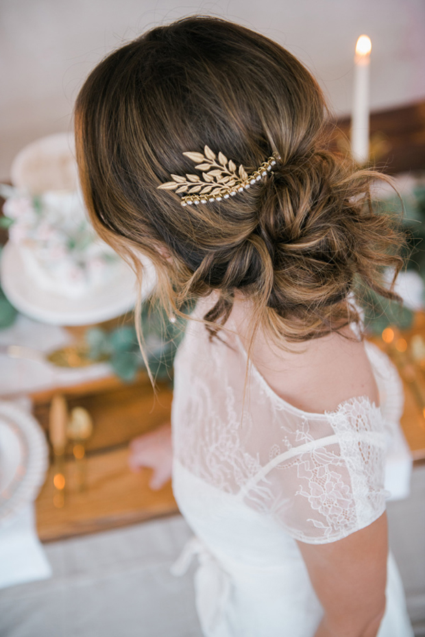 Soft Bridal Wedding Inspiration - photo by JOJO Photography and Film http://ruffledblog.com/soft-bridal-wedding-inspiration