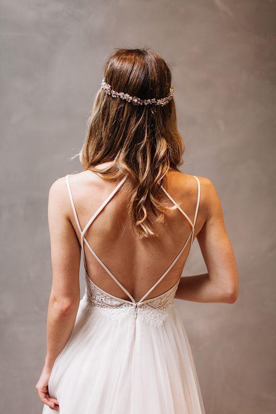 willowby watters vestido de novia sin espalda con espalda baja