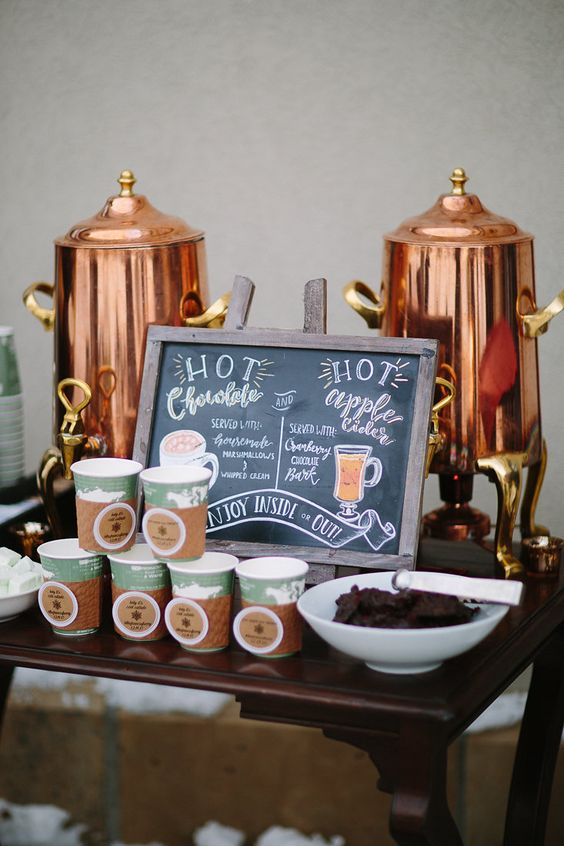 winter-wedding-ideas-hot-cocoa-stand-weddingsonline