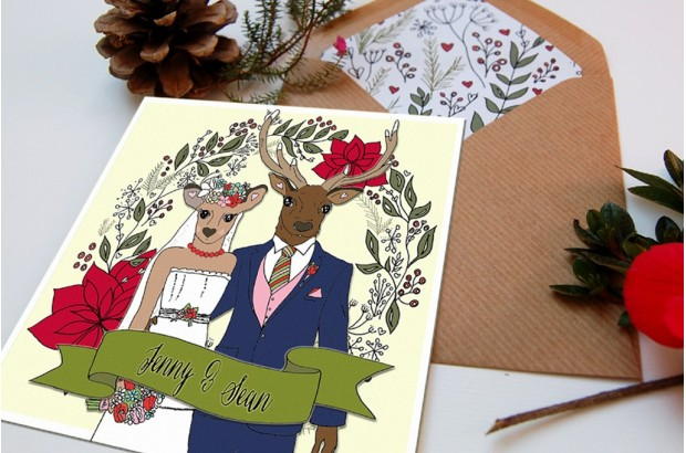 winter-wedding-invitation-hunt-is-over-wedding-invitaion-rosy-days