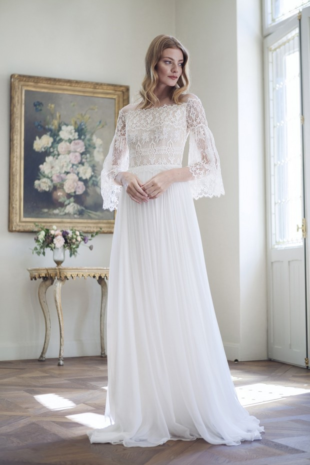 Divine-Atelier-Encaje-Tul-Clásico-2017-Vestidos de novia