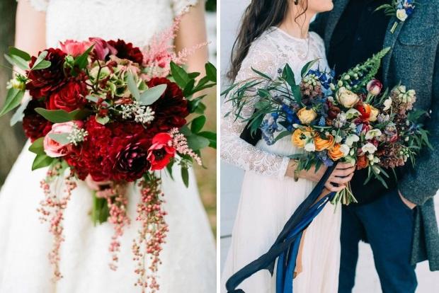 21 Ultra Unique Winter Wedding Bouquets