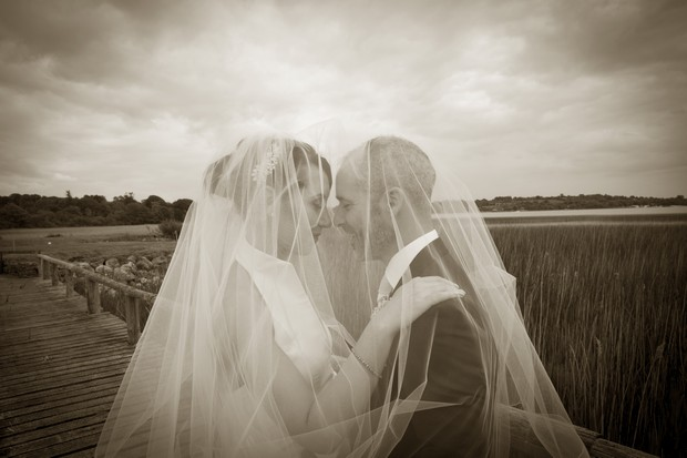 bride-and-groom-under-veil
