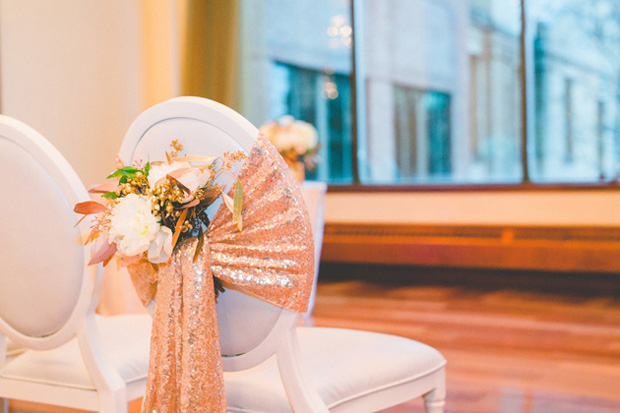 gold-sequin-chair-sash-wedding-ceremony