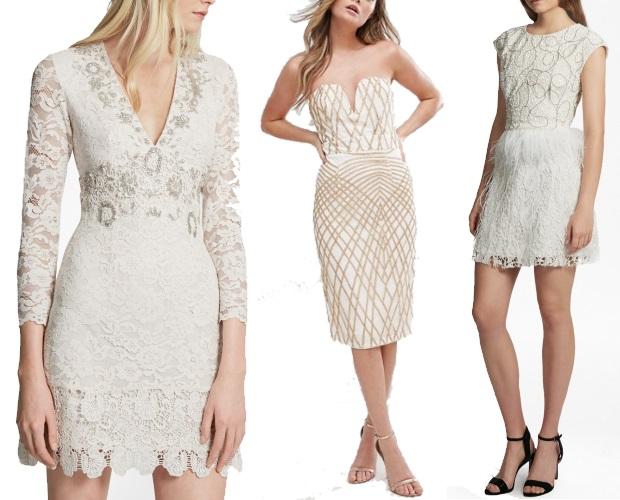 Lace Engagement Dress