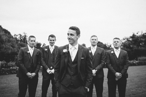 33-Black-white-wedding-photo-groom-groomsmen-Emma-Russell-Photography-weddingsonline