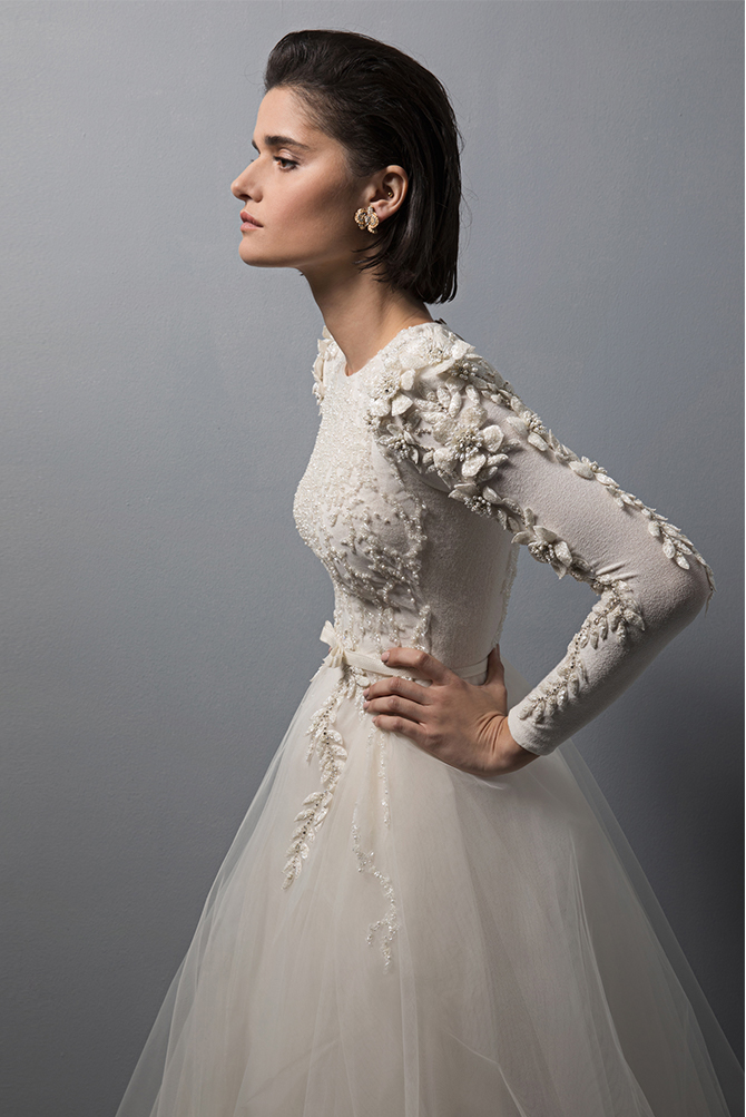 4 incredible israeli bridal designers to watch in 2017 for High couture wedding dresses