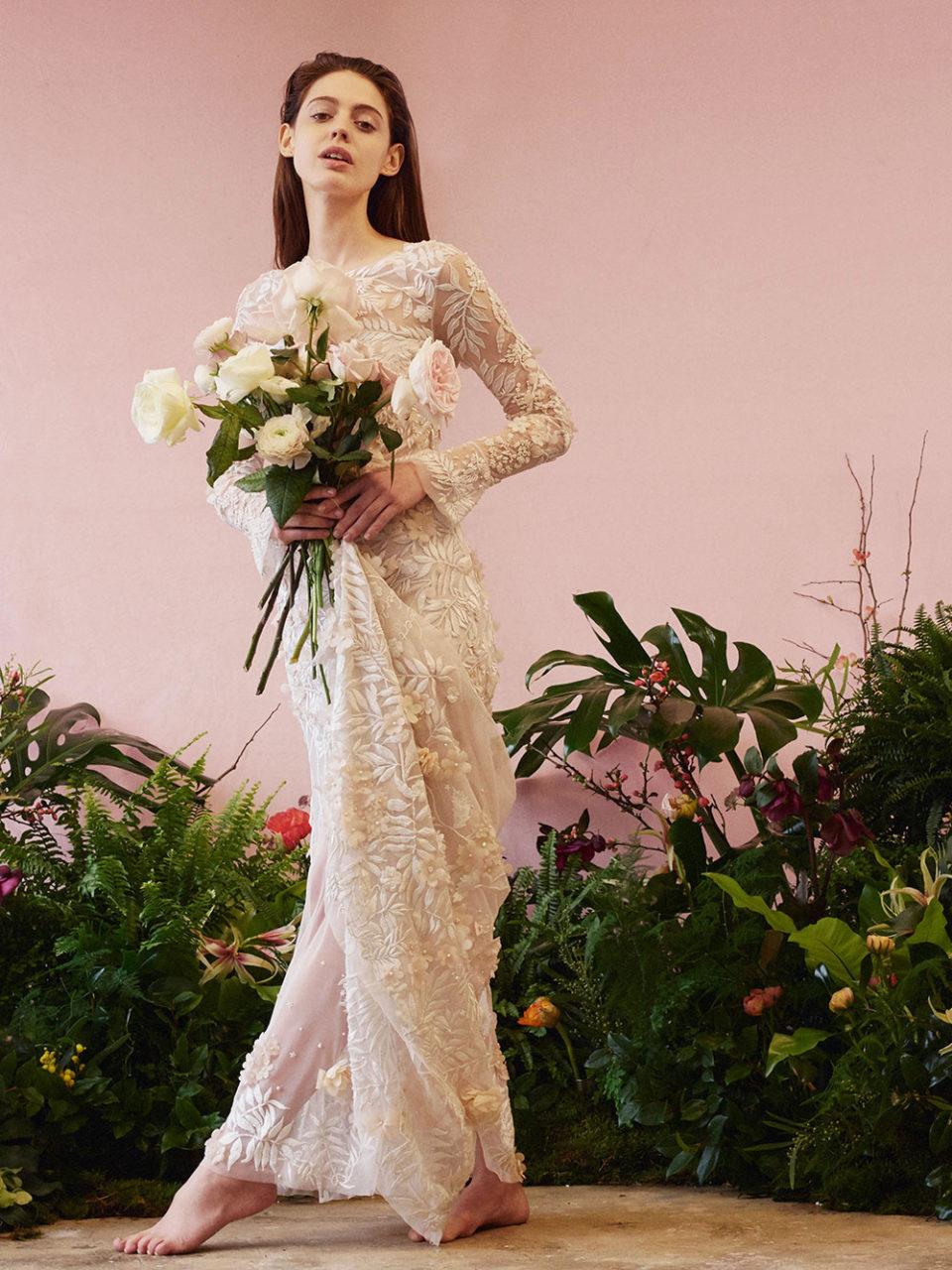 Introducing The Eccentric Elegant Hermione De Paula Bridal Collection