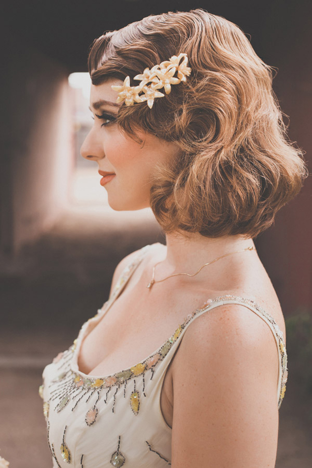 20 Sublime Wedding Hairstyles for Short Haired Brides ...