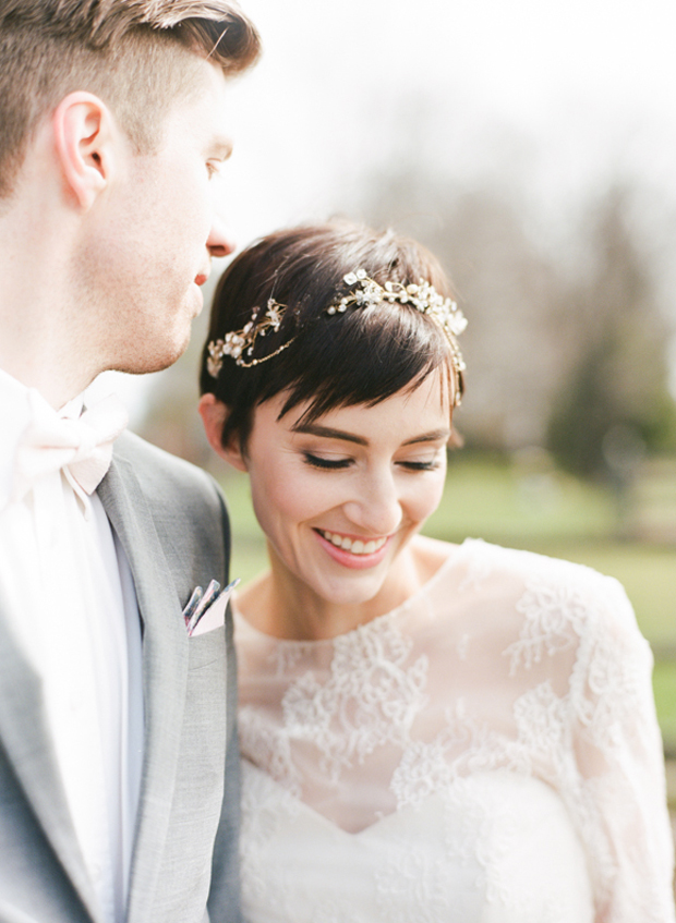 pixie hair wedding styles 20 sublime wedding hairstyles for haired brides 3499