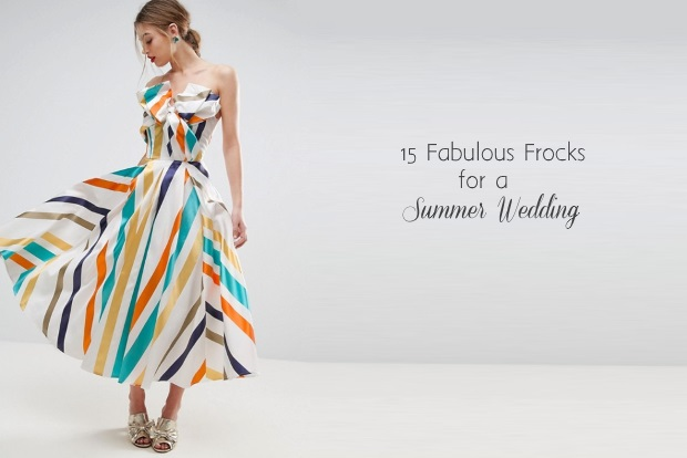 15 Fabulous Pastel Print Dresses For Summer Wedding Guests
