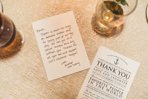 Wedding Thank You Note.16 Gorgeous Ways To Say Thank You To Your Wedding Guests