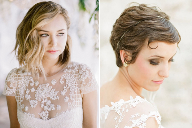 Top 20 Wedding Hairstyles For Medium Hair: 20 Sublime Wedding Hairstyles For Short Haired Brides