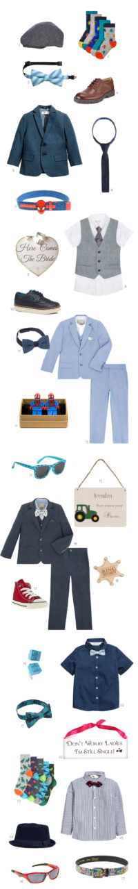 The Cutest Outfits & Accessories for Page Boys ...