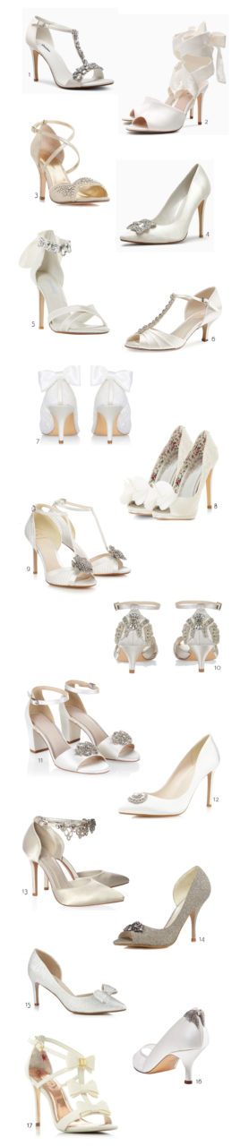 ba6a98b8b0f 17 Super Stylish Wedding Shoes from the High Street | weddingsonline