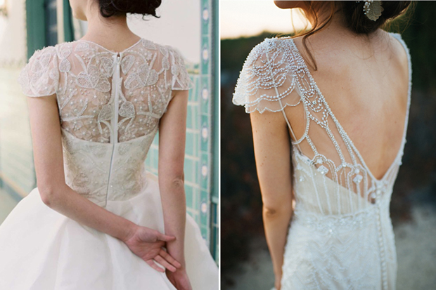 17 Seriously Swoon-Worthy Wedding Dress Back Details | weddingsonline