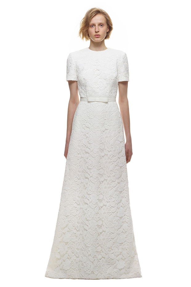 Luscious lace steal pippa middleton 39 s wedding dress for Self portrait wedding dress