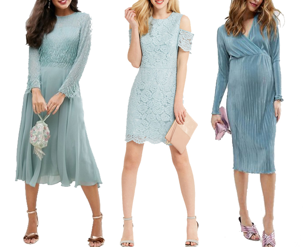8e8d0fe10d0 Dresses (L-R)  ASOS Embellished Long Sleeve Tassle Midi Dress