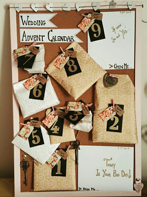 12 Things To Include In Your Wedding Advent Calendar Weddingsonline