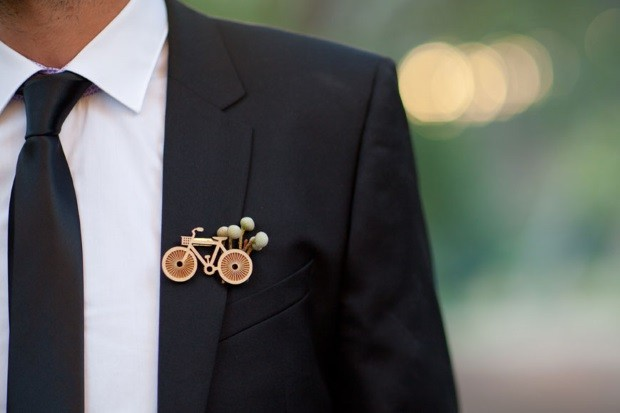 Wedding Trend 17 Stylish Grooms With Lapel Pins