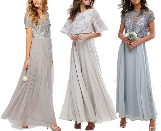 c81e0154da5b 12 of the Best Bride   Bridesmaid Hanger Ideas. Dresses L-R  Maya ...