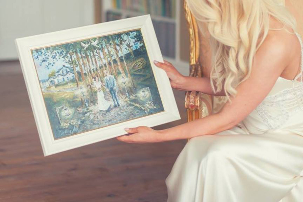 Wedding Gift Paintings: 13 Gorgeous Wedding Keepsakes To Treasure After The Big