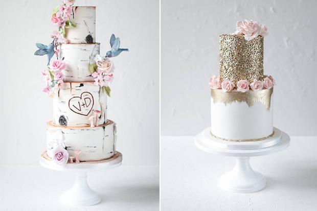 32 WOW Wedding Cakes from Irish Cake Makers