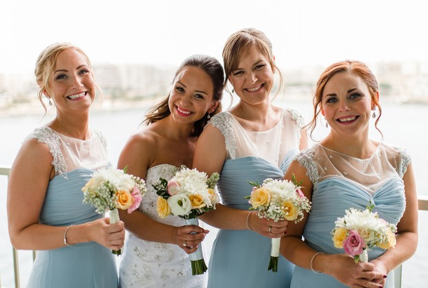 A Super Fun Destination Wedding In Malta Weddingsonline