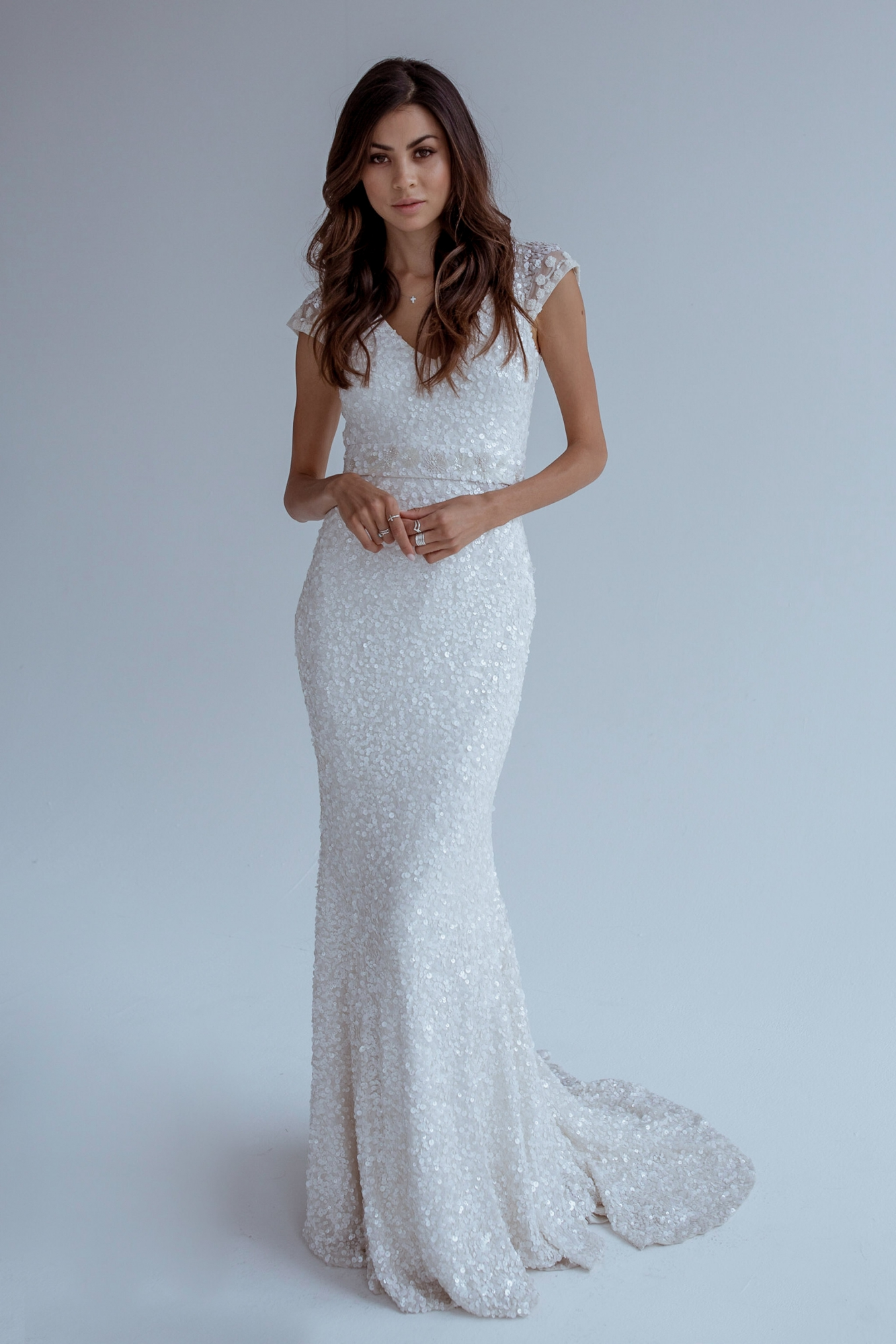 21 Exquisite Wedding Dresses with Cap Sleeves | weddingsonline