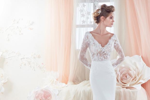 Simple Wedding Dresses Over 40: 40 Swoon-Worthy Long Sleeve Wedding Dresses