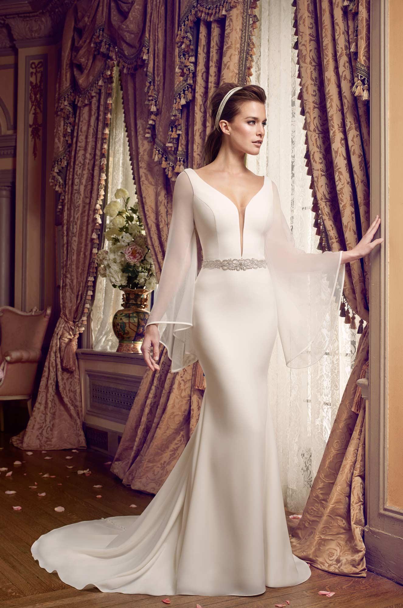 40 swoonworthy long sleeve wedding dresses  weddingsonline