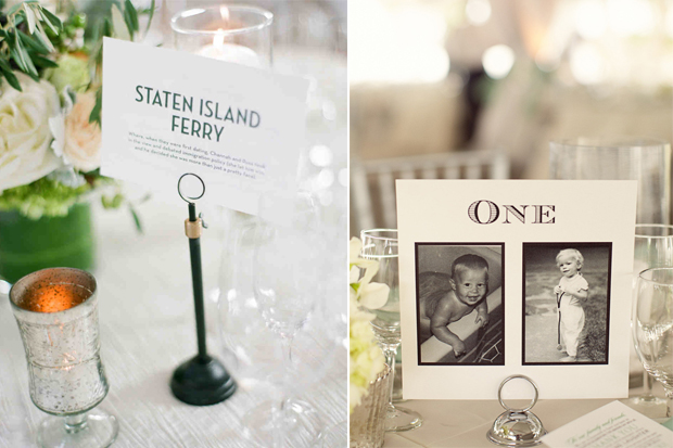 10 Brilliant Ways to Personalise Your Wedding Table Names ...