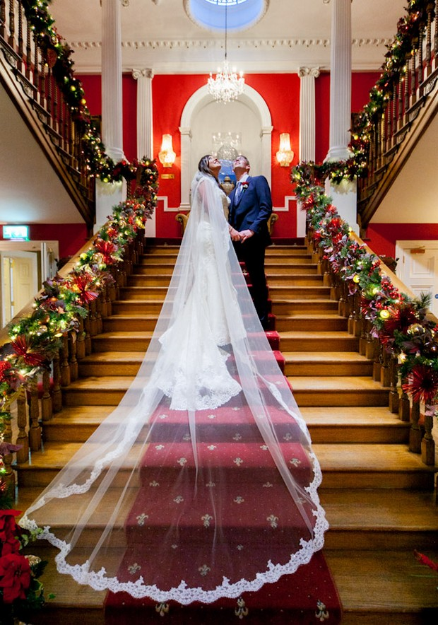 perfect Christmas wedding