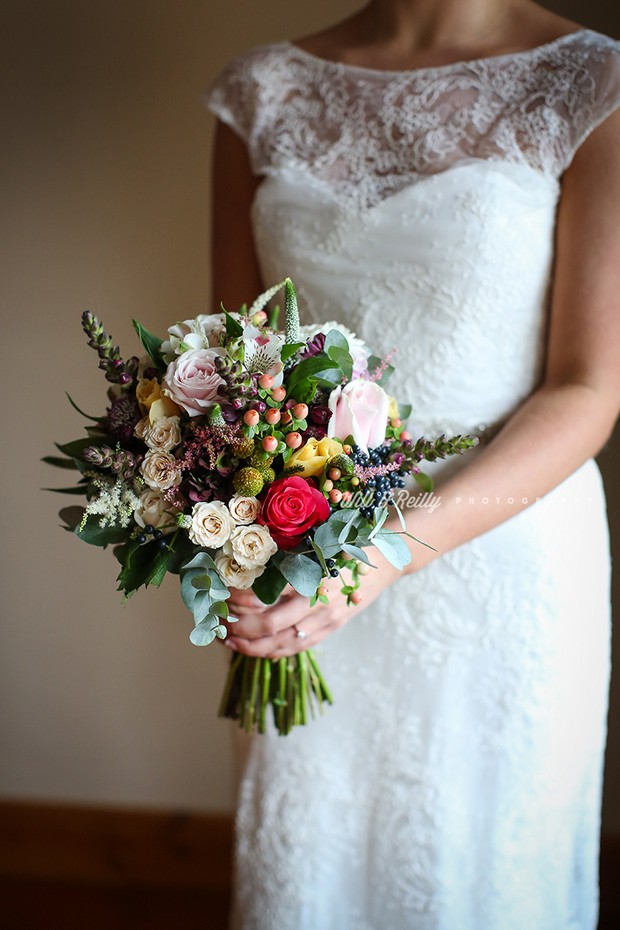 32 beautiful winter wedding bouquets weddingsonline bouquet by dooleys westend flowers based in athlone photo by will o reilly junglespirit Choice Image
