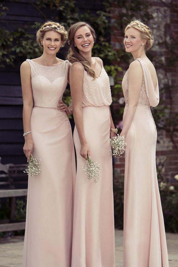 2463eab00f1 We re a big fan of the oh-so-romantic dresses from True Bridesmaids and we  bet your ladies will love them too. This fashion forward collection of gowns  is ...