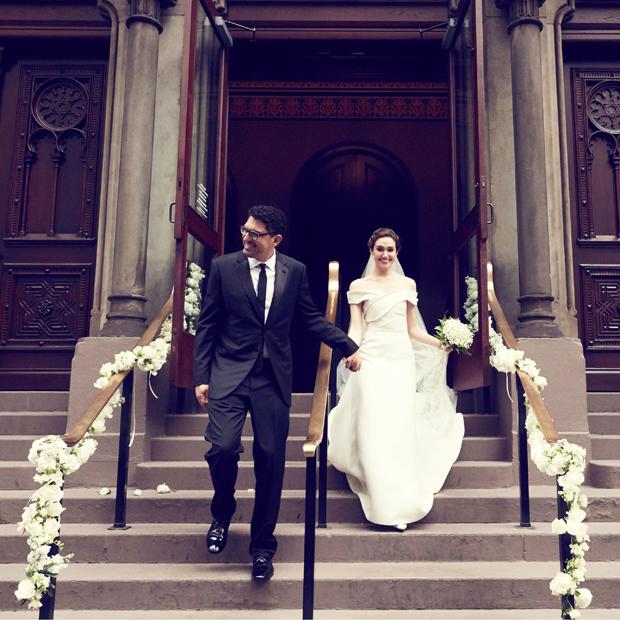 Emmy Rossum Wedding: 8 Amazing Celebrity Wedding Dresses From 2017