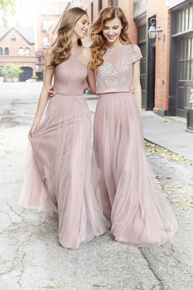 37719de8782 Every season Hayley Paige Occasions wow us with gorgeous dresses your girls  will only be too happy to wear. Their trend-led gúnas come in chiffon