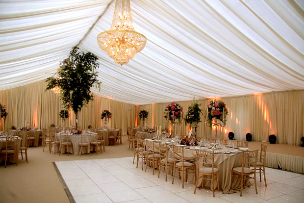 marquee wedding essentials