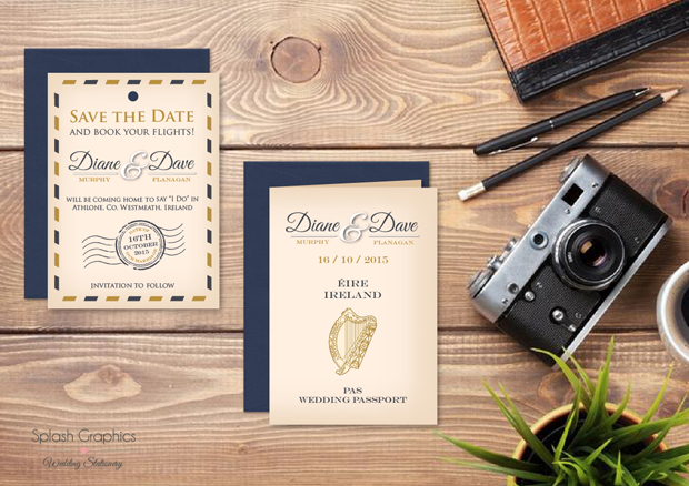 18 Pretty Save The Date Cards To Send Now Weddingsonline