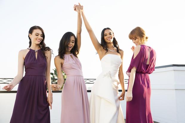 10 Beautiful Bridesmaid Dress Trends for 2018 Weddings | weddingsonline