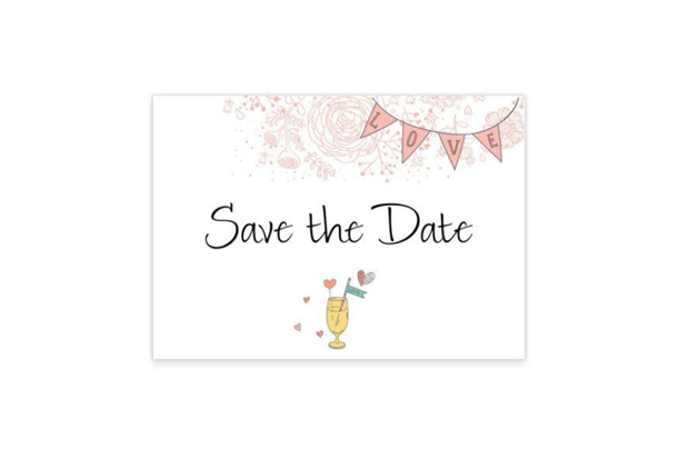 18 Pretty Save The Date Cards To Send Now!