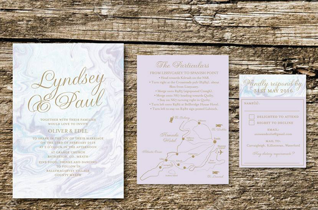... home décor trends now, marble can be seen everywhere from iPhone cases to stationery – and it's also one of the top wedding invitation trends for 2018!