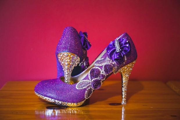 Purple Reign – Amy & Noel's Landmark Hotel Wedding by Alex Zarodov Photography images 3